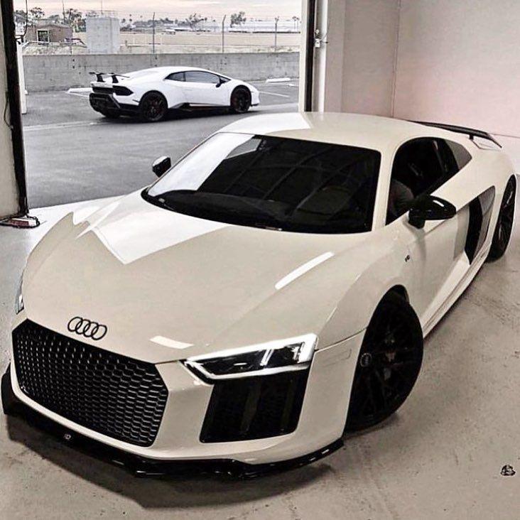 "EXOTIC CARS On Instagram: ""🔥😍 WHITE AUDI R8"