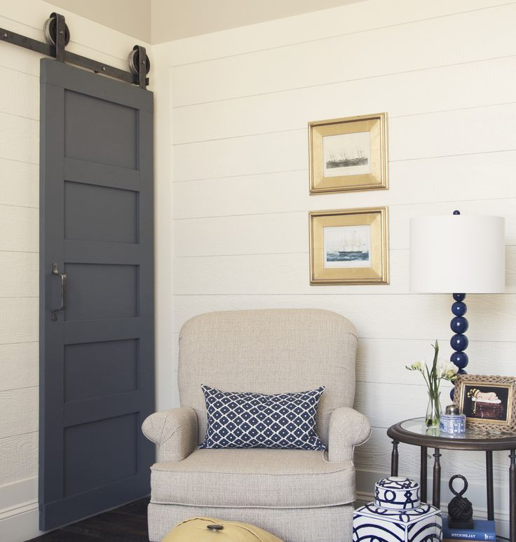 The 5-Panel barn door is a more contemporary twist on old style doors. The door itself is made with hand selected wood and is built to last. Shop now!