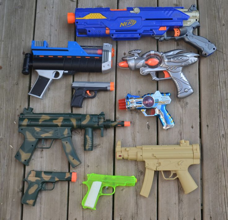 Weapons NONE are working, no noises and the nerf has no insides. Just for play; all for $5