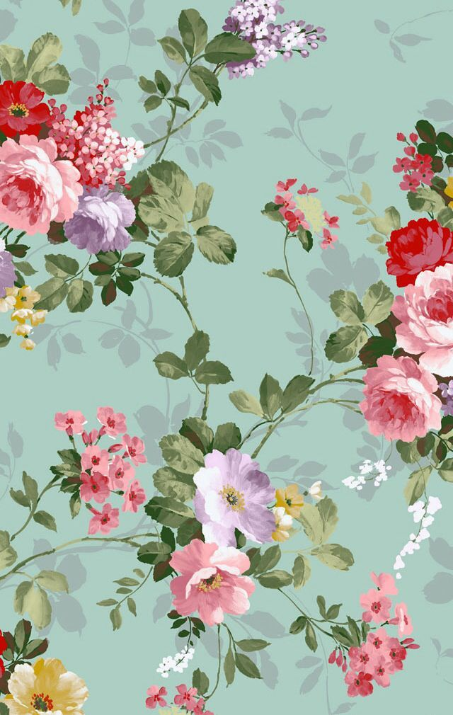 Hasil Gambar Untuk Wallpaper Bunga Iphone Floral Di 2019 Pattern Wallpaper Wallpaper Dan