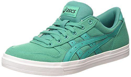 ASICS Aaron, Unisex-Erwachsene Sneakers, Grün (spectra Green/spectra Green 7878), 39 EU - http://uhr.haus/asics/39-eu-asics-aaron-sneaker-h6g4n-8502-36-3