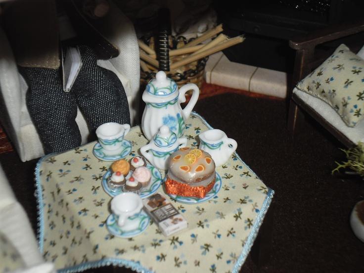 mesa do chá