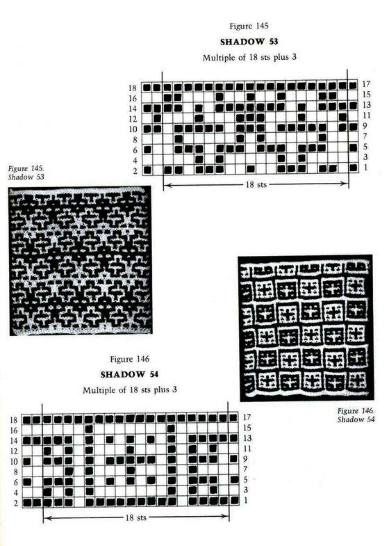 Mosaic Knitting Barbara G. Walker (Lenivii gakkard) Mosaic Knitting Barbara G. Walker (Lenivii gakkard) #186