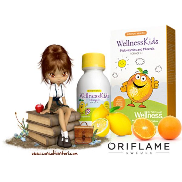 """""""wellness kids by Oriflame"""" by consultantori on Polyvore"""
