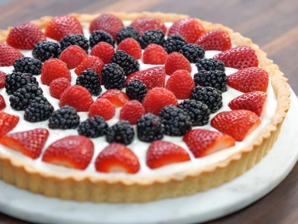 Get Mixed Fruit Tart Recipe from Food Network
