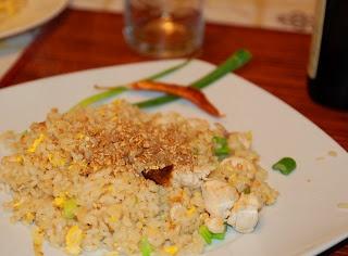 Khao Phat Kai (Riso fritto con pollo alla thailandese) ~ Mondi e Sapori