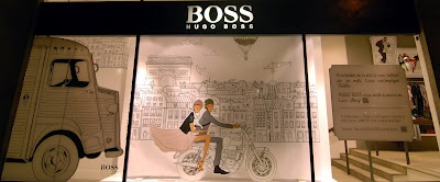 Hugo Boss love story