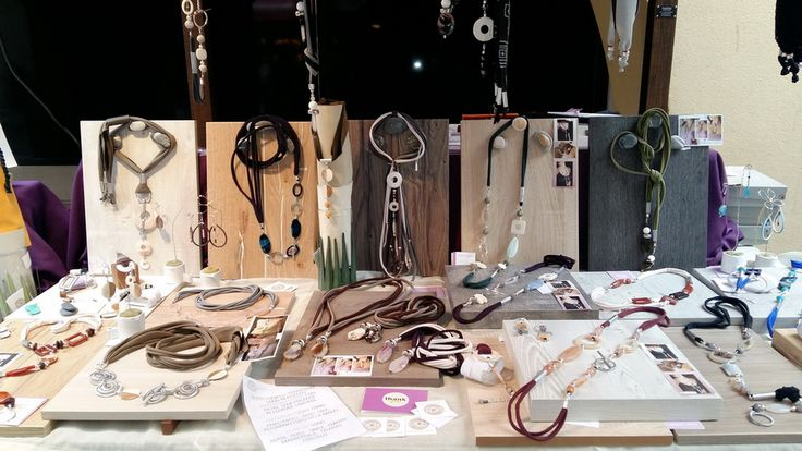 Jewelry display, trade show, Dendesign Jewels