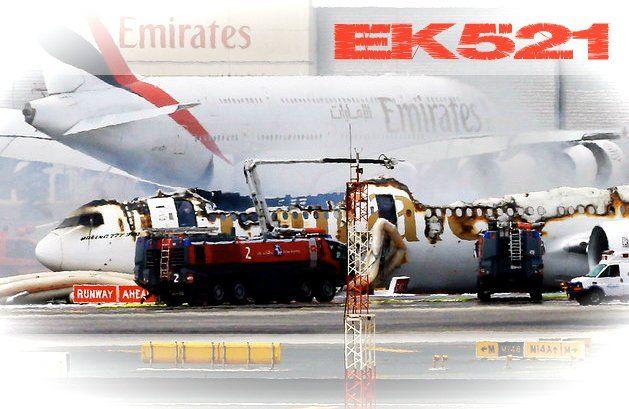 flygcforum.com ✈ EMIRATES FLIGHT EK521 ✈ Emirates plane crash-lands at Dubai airport ✈