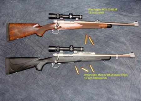Ammo and Gun Collector: Custom B dangerous game rifles