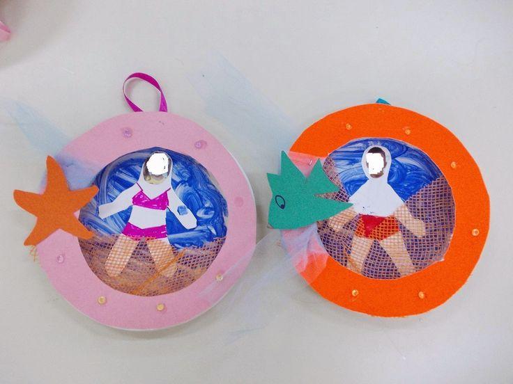Paper plate underwater craft