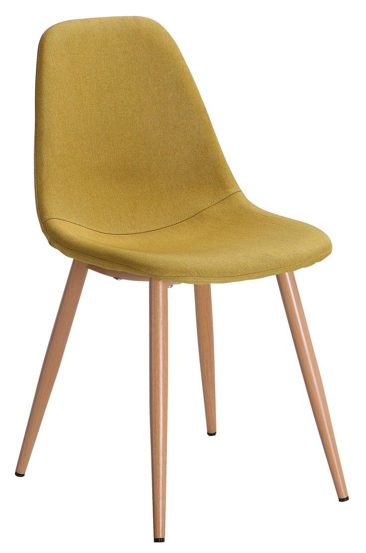 Existe en plusieurs coloris, la chaise LYNETTE gentiane apportera une touche originale à votre salon - BUT