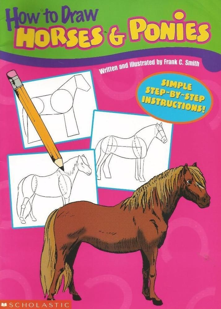 How To Draw Horses and Ponies by Frank C. Smith - Paperback - S/Hand