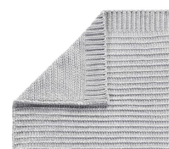 Chenille Metallic Baby Blankets