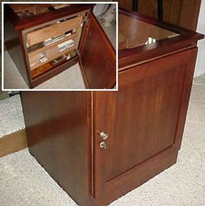 DIY Woodworking Ideas Cigar Humidor Plan – Large and Detailed