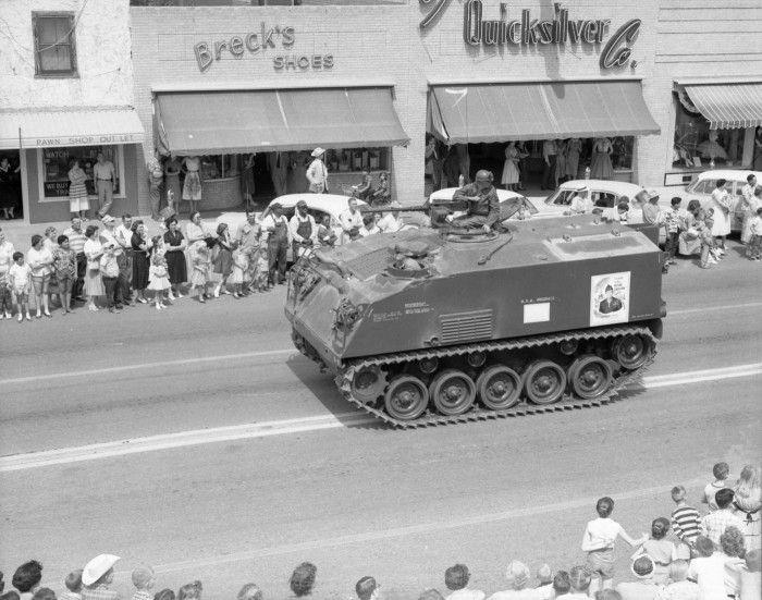 Taylor, Texas, 1950s