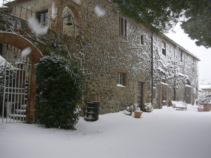 The snow....