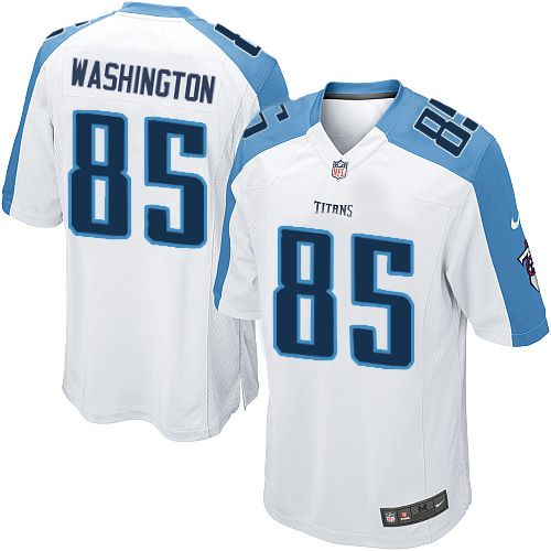 Youth Nike Tennessee Titans #85 Nate Washington Limited White NFL Jersey Sale