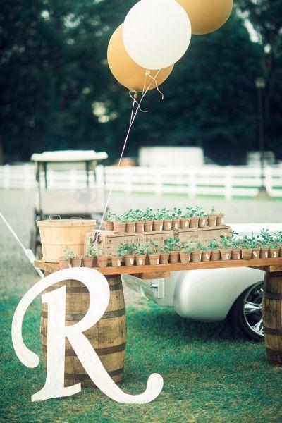 Craquez pour ces superbes idées DIY pour décorer votre mariage en 2016 ! Image: 20