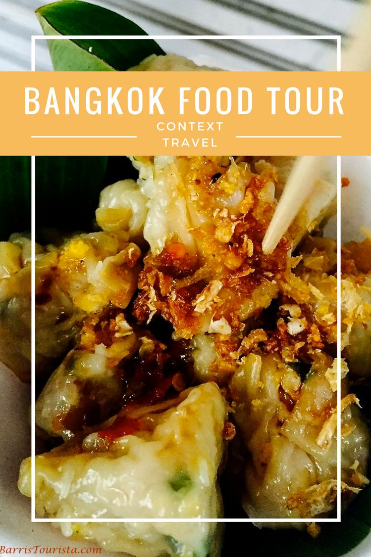 When in Bangkok, food is king. And you will eat well on this foodie tour by Context Travel. You won't be sorry! #sponsored