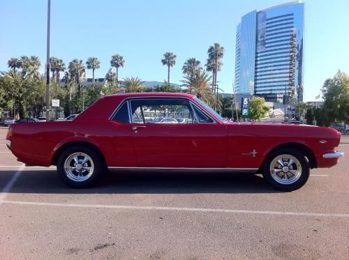 1966 Mustang Coupe Automatic For Sale