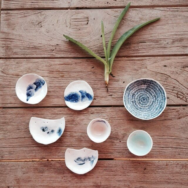 Southern Ice porcelain objects