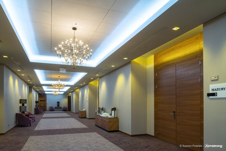 Grand Hotel Tiffi, Armstrong Sufity Podwieszane, ceiling, sufit akustyczny, acoustic, hotele