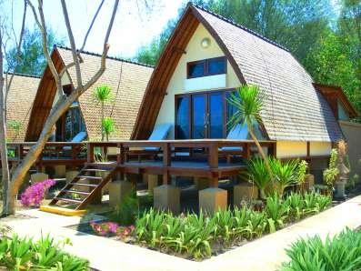 Lumbung Beach Cottage in Indonesia by Ombak Villas #International #Beach