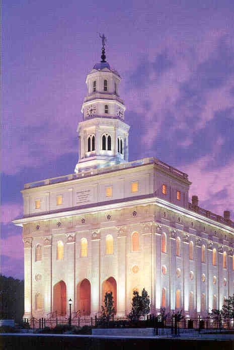 Nauvoo Temple - where we first met.  I went as one and now we're six