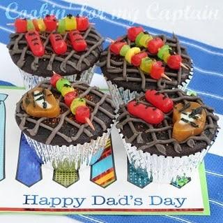 Grill cupcake ideas
