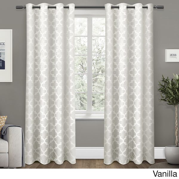 Cartago Insulated Woven Blackout Window Curtain $54 48-96-inch Length Panel Pair