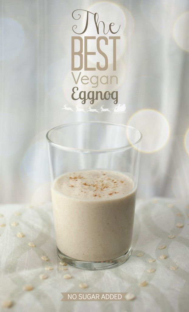 The Best Vegan Eggnog I have ever had!!! And so healthy compared to the sugary store bought nog.
