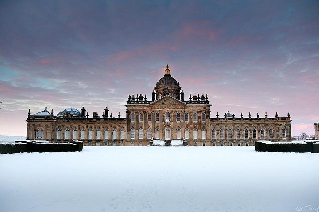 Castle Howard @ Sunset, Winter | Flickr - Photo Sharing!