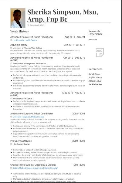 best it professional resume examples
