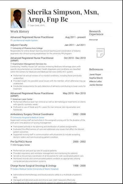 practitioner resume template jpg 402 215 603