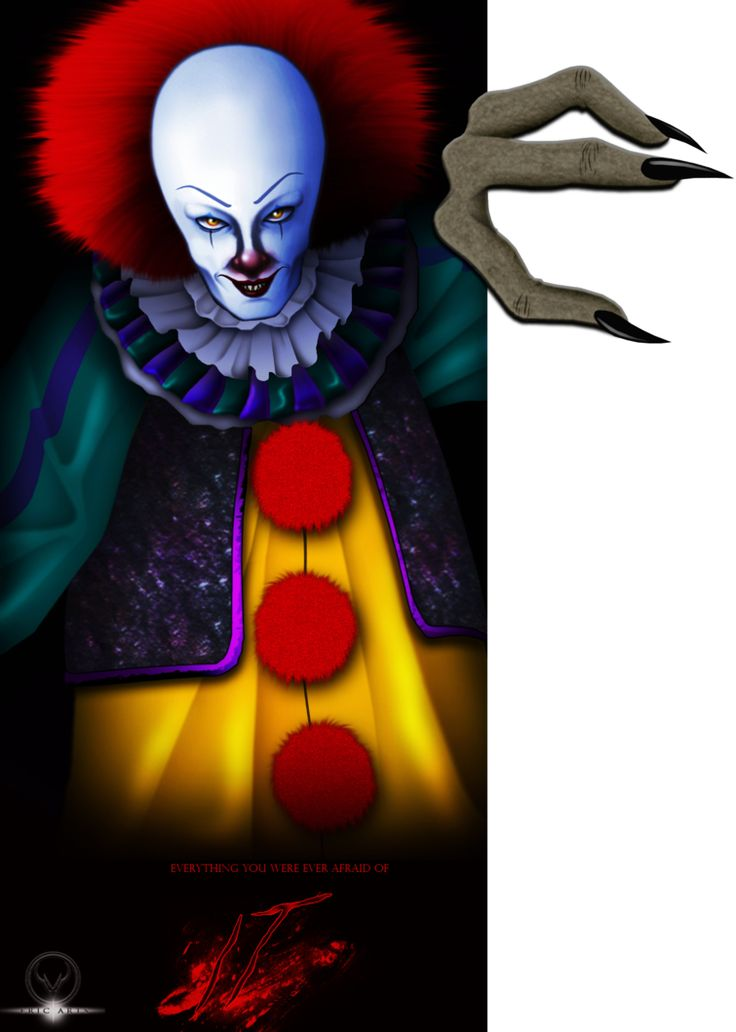 PENNYWISE THE DANCING CLOWN by ERIC-ARTS-inc