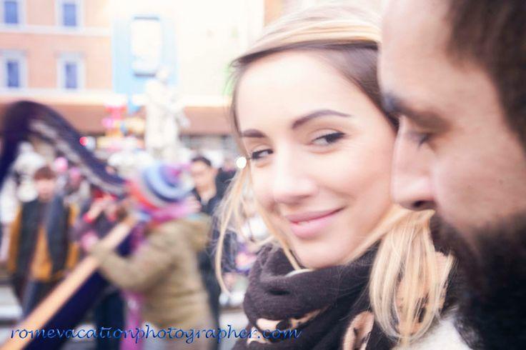 #Piazza Navona #vacation #photographer for #couples #honeymoon #wedding #proposal #Rome #Romans