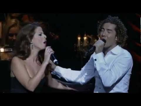 David Bisbal y Pastora Soler - Adoro - Julio - YouTube