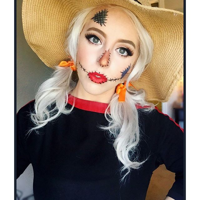 Scarecrow by @glamjessie. Tag your pics with #Halloween and #SephoraSelfie on Sephora's Beauty Board or Instagram for a chance to be featured!