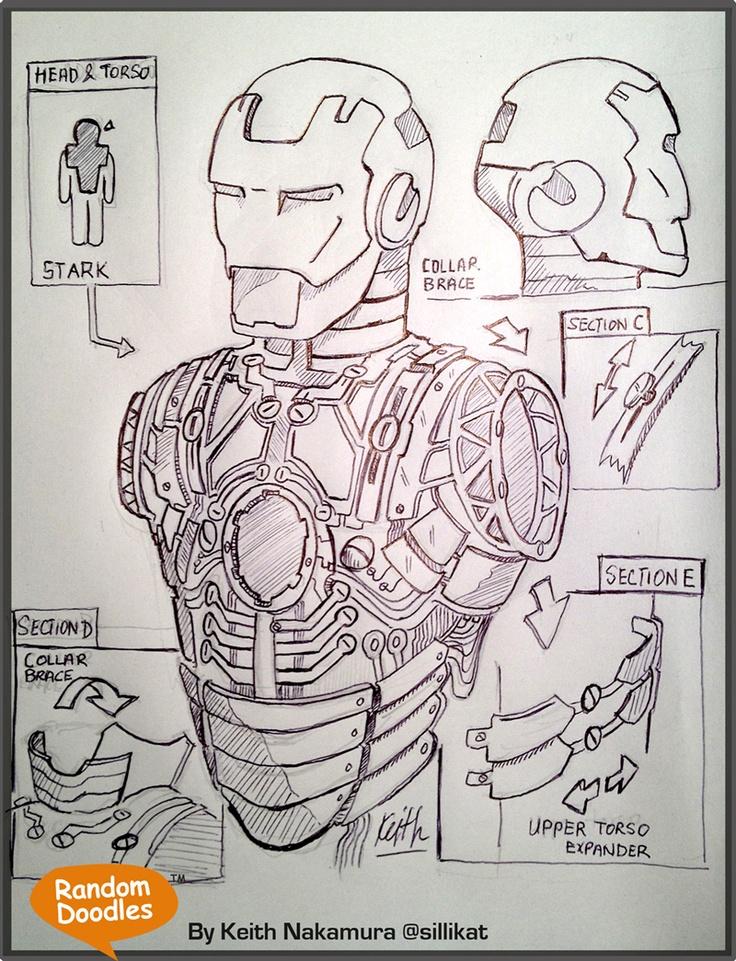Iron Man Schematics