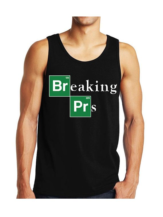 BREAKING PRs Men's #Workout #Tank Top Workout Clothing by #NobullWomanApparel, for only $24.99! Click here to buy https://www.etsy.com/listing/241562177/breaking-prs-mens-workout-tank-top?ref=shop_home_active_18