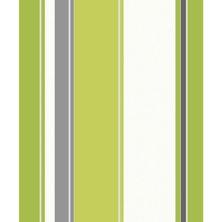 Carina Stripe Lime Green Wallpaper - Arthouse | Green, Green walls