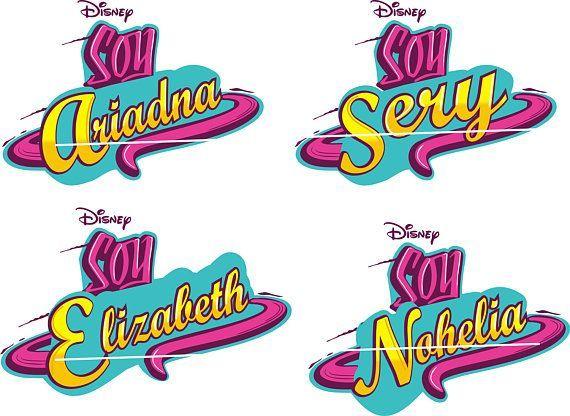 Soy Luna Logo Personalizado Con El Nombre De La Nina Luna Namen Halloween Deko