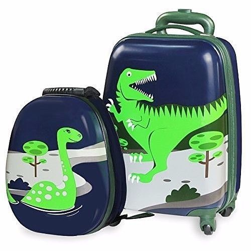 Travel Suitcase Rolling Storage Children Luggage Trolley/Small Backpack Gift Set #DealsToday #Backpack