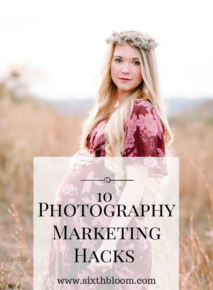 Photography Business Tips and Hacks to help you become successful in marketing and business.