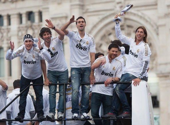 Sergio Ramos Photo - Real Madrid Celebrate Winning La Liga