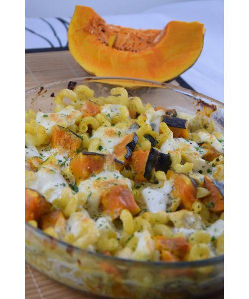 Gratin de courge Shiatsu à la Mozzarella, Bataille food #33