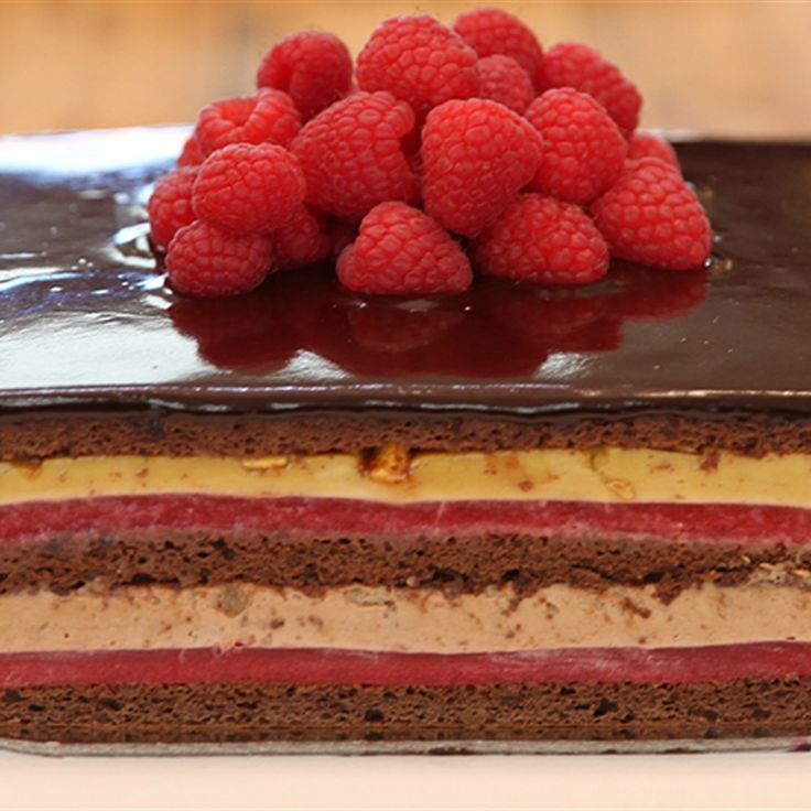 Try this Maggie's Cornucopia Finale Cake recipe by Chef Maggie Beer. This recipe…
