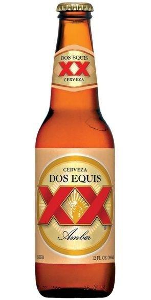 Beer: Dos Equis Ambar.