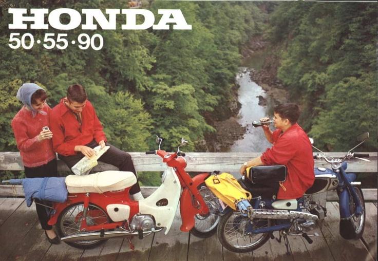 Brochure for Honda 50 models